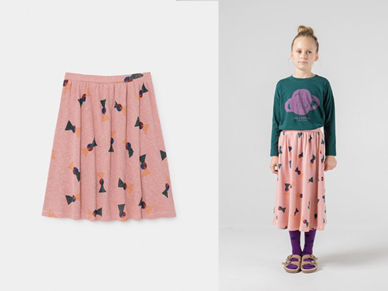 ***60%*** [bobochoses]All Over Flags Midi Skirt