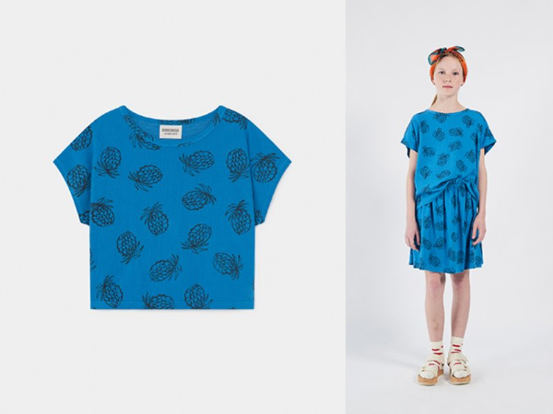 ***50%*** [bobochoses]All Over Pineapple Short Sleeve T-Shirt