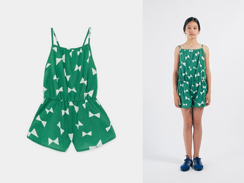 ***50%*** [bobochoses]All Over Bow Woven Playsuit