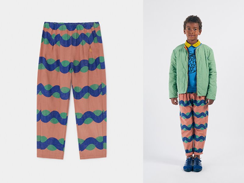 ***50%***[bobochoses]All Over Sea Baggy Trousers