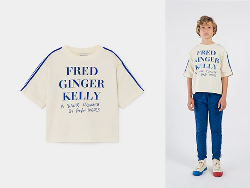 ***50%***[bobochoses]Fred, Ginger & Kelly Short Sleeve Sweatshirt