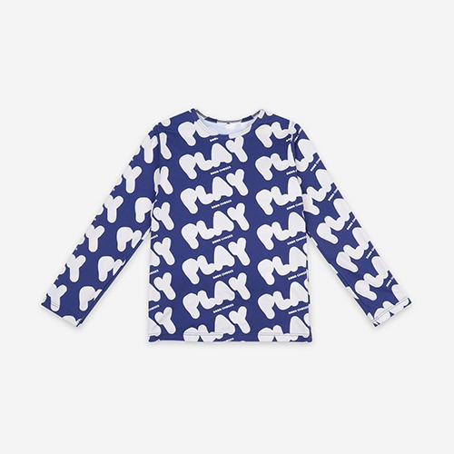 [bobochoses]-KID Play All Over Swim Top - Galaxy Blue