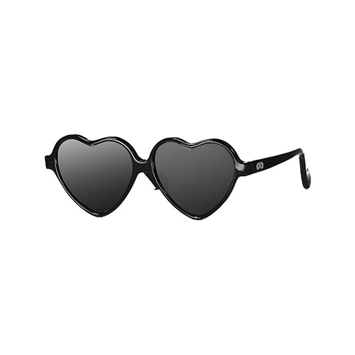 [beauloves] Black Heart Sunglasses