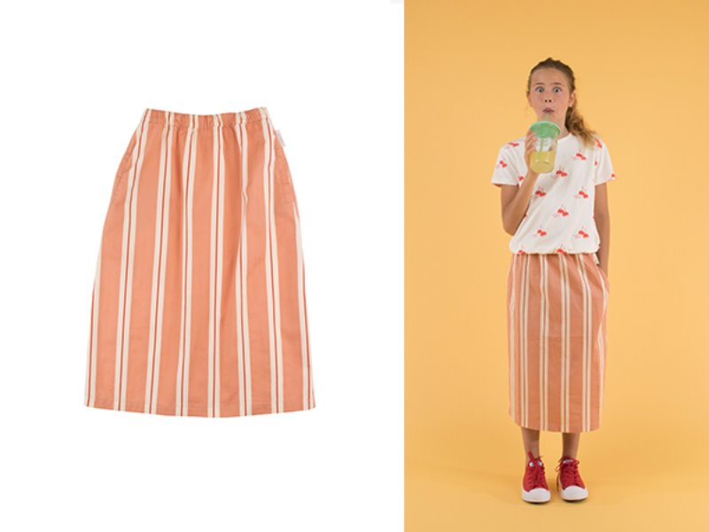 ***핫딜/교환환불안됨***[tinycottons]'RETRO STRIPES' LONG SKIRT