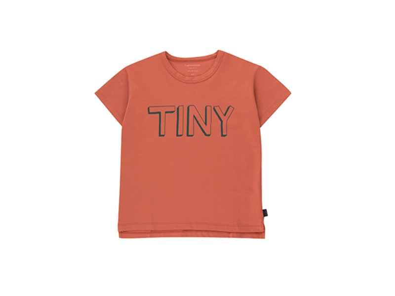 [tinycottons] TINY TEE - maroon/ink blue