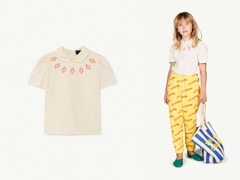 [T.A.O]CANARY KIDS BLOUSE