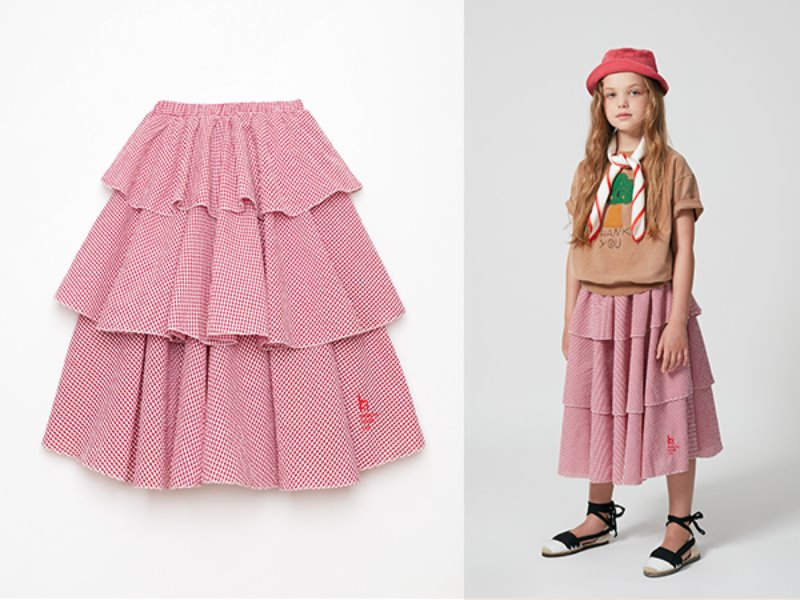 [weekend house kids]Bohemian skirt