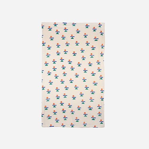 [bobochoses]-HOME Balance All Over Towel - Turtledove