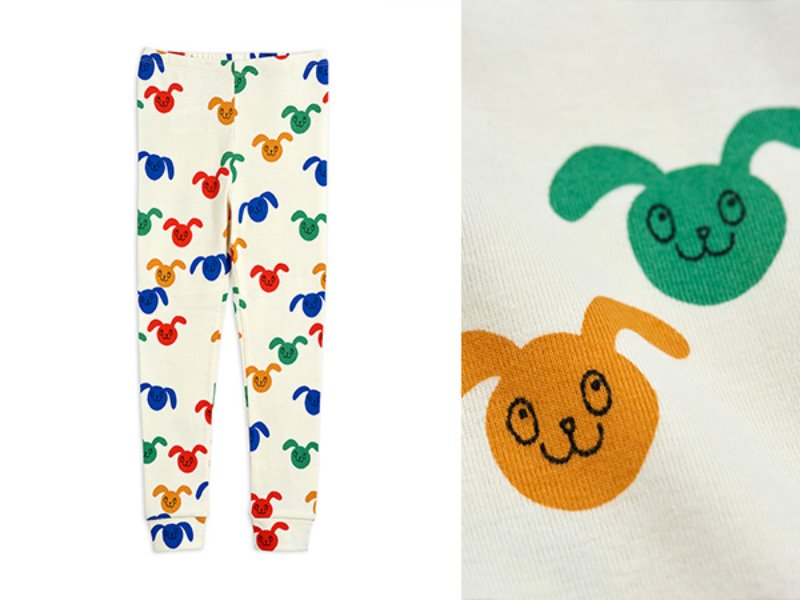 [mini rodini]Rabbits aop leggings-Multi