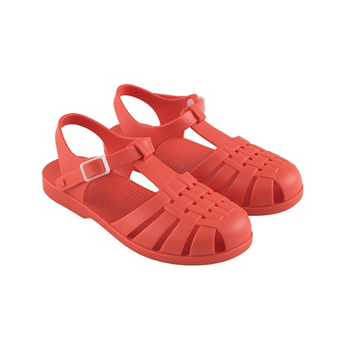[tinycottons] JELLY SANDALS - red